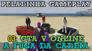 GTA V 1 - PRISON BREAK Título REDUX