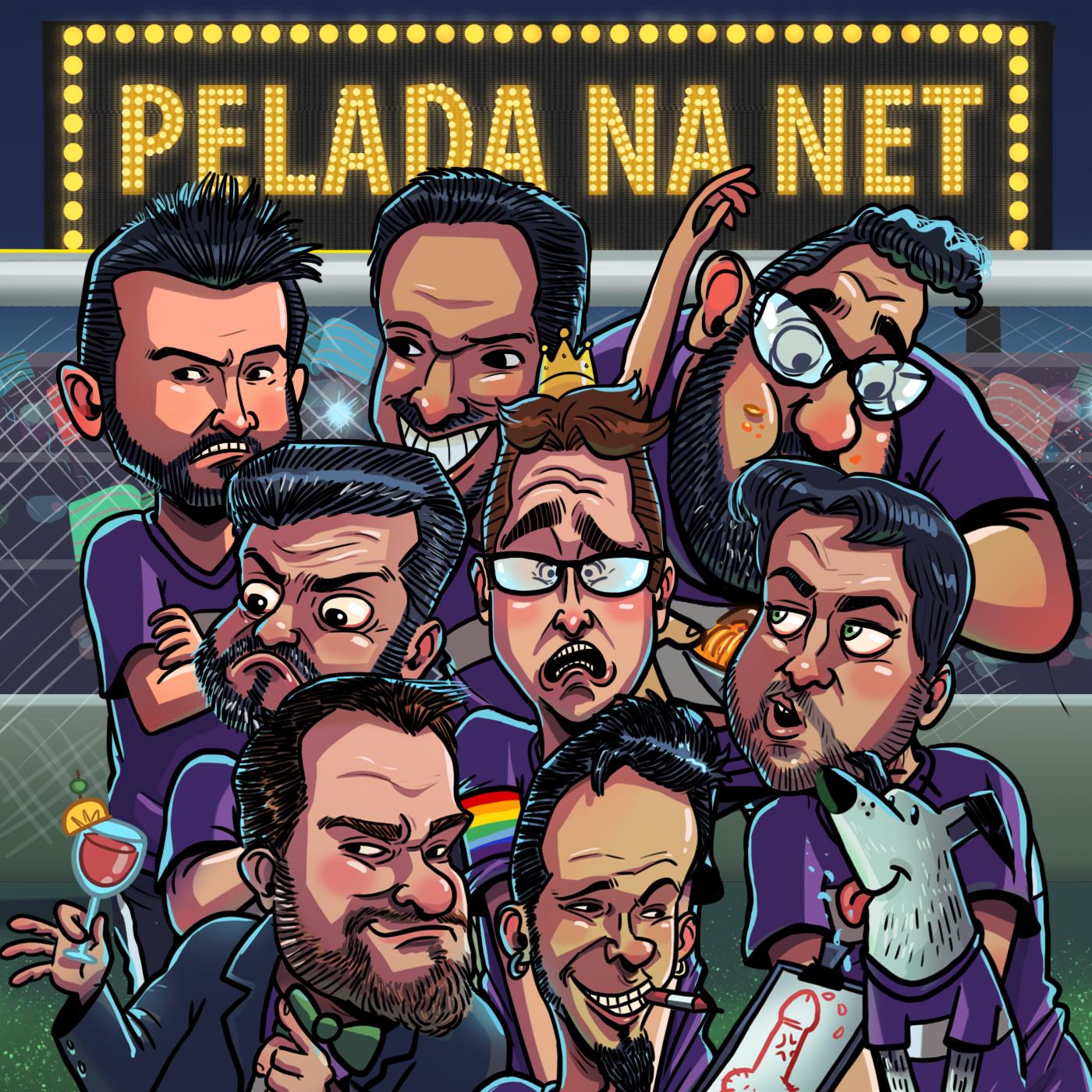 Pelada na Net Podcast – Pelada na Net
